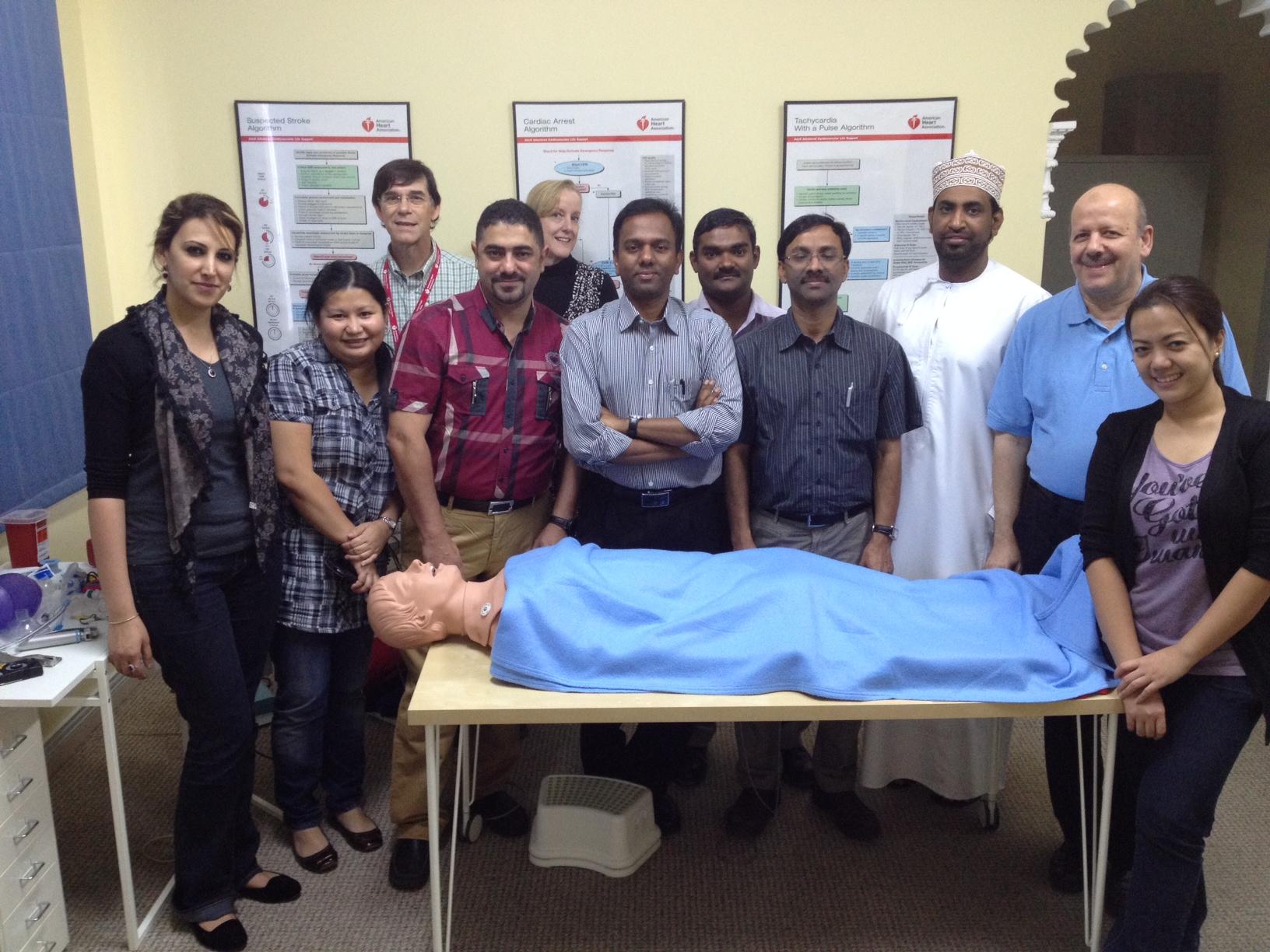 Testimonials Target Gulf CPR training